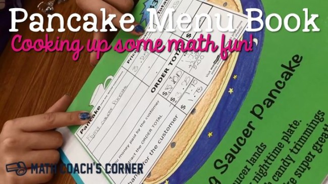 Pancake Menu Book 1