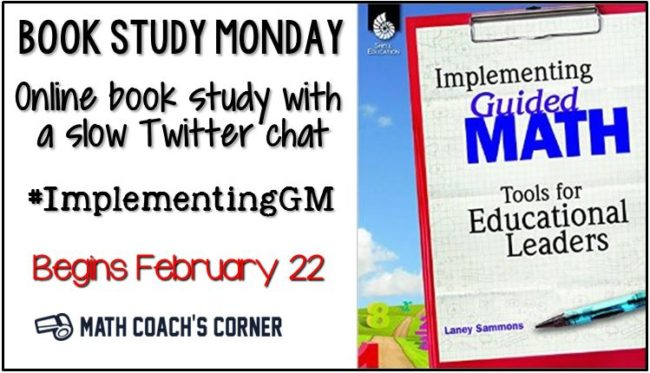 Book Study Monday Implementing GM Preview