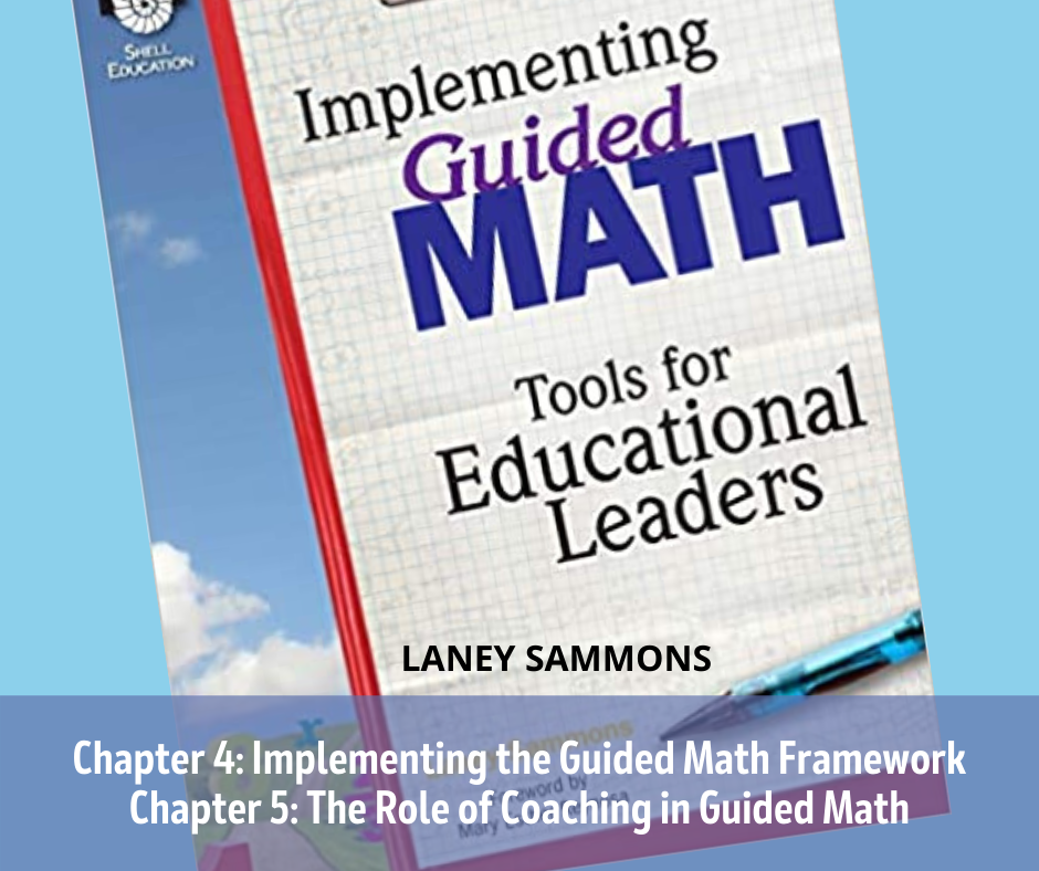Book Study Monday: Implementing Guided Math, Chapters 4 and 5