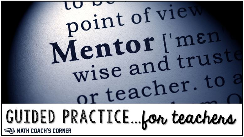 Guided Practice…for new teachers
