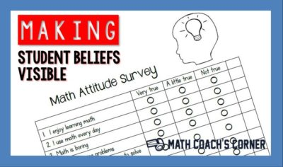 Making Student Beliefs Visible