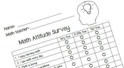 Attitude survey template for Attitude survey template
