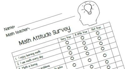 Math Attitude Survey 1