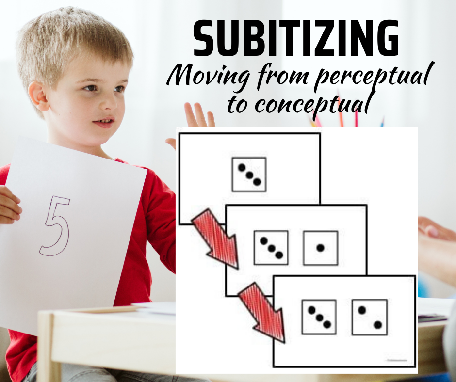Subitizing: Moving from Perceptual to Conceptual