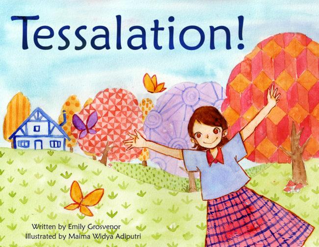 Kids Maths Book Cover ~ Tessellations combining art and math coach s corner