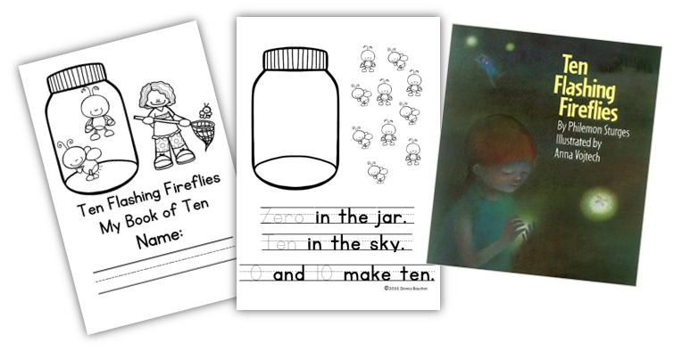 Making Ten: Ten Flashing Fireflies