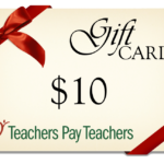 Flash Giveaway! Win a $10 TpT Gift Card!