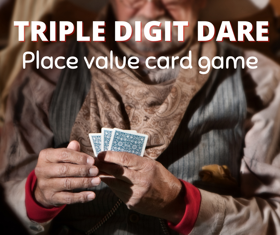 This engaging card game for place value will be a hit with your students!