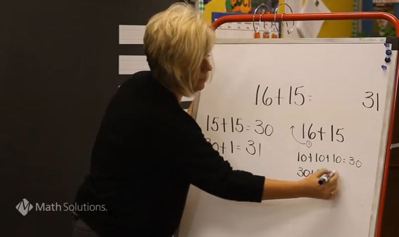 Who's Doing the Talking? Number Talks