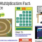 Online Multiplication Fact Practice
