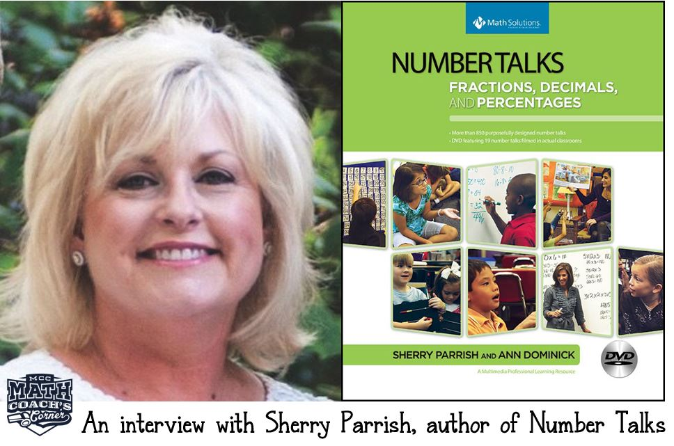 An Interview with Sherry Parrish, author of Number Talks