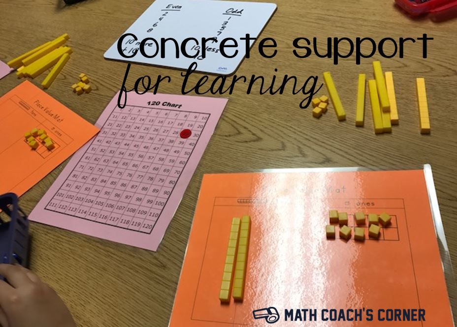 Concrete Support for Learning