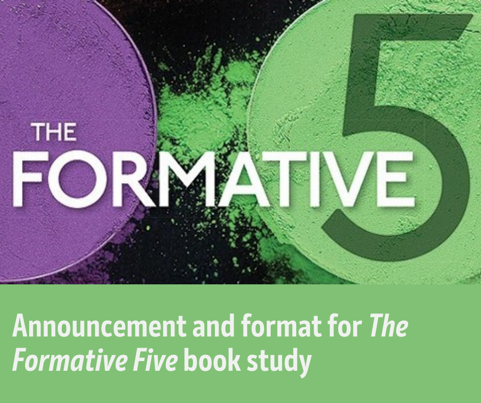 Book Study: The Formative 5