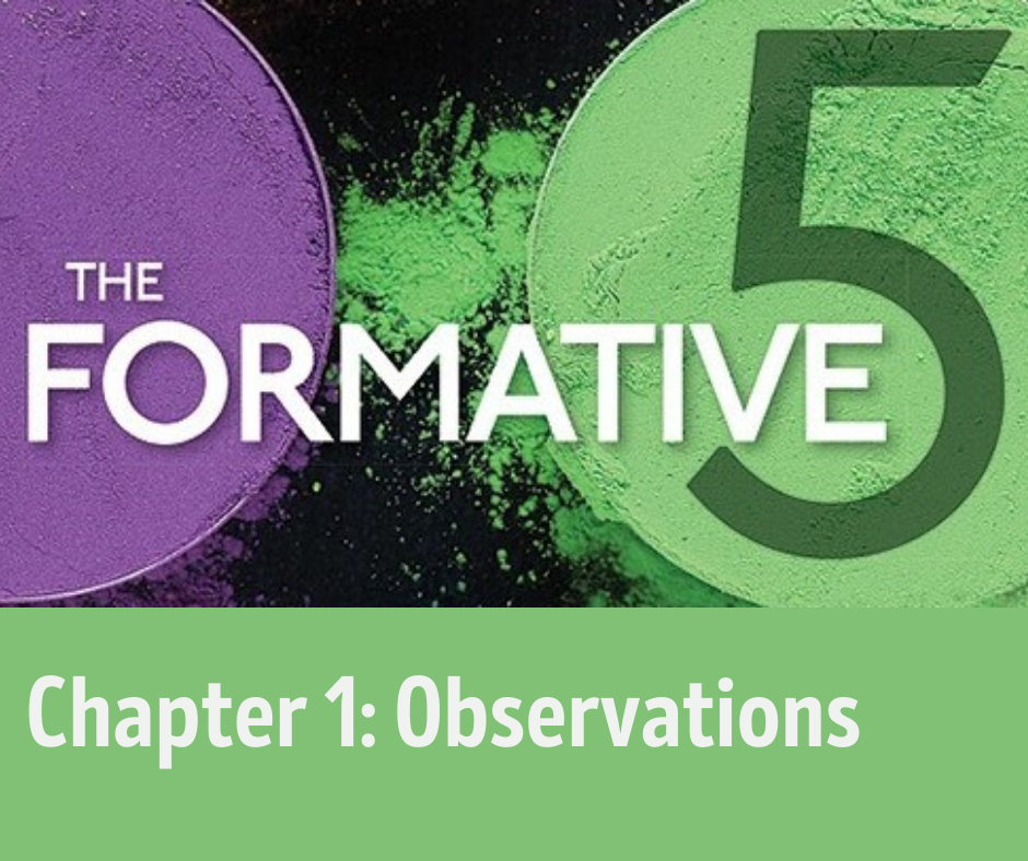Chapter 1, Observations