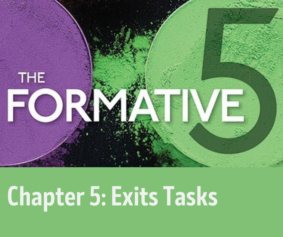 Chapter 5, Exit Tasks