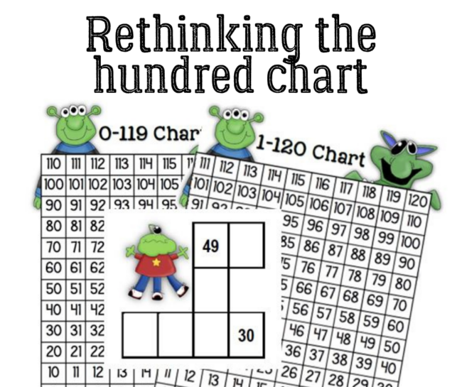 Grab a free bottom-up hundred chart