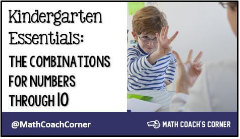 Kindergarten Essentials: Combinations for Numbers Through 10