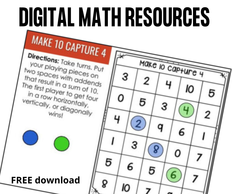 New Digital Math Games!