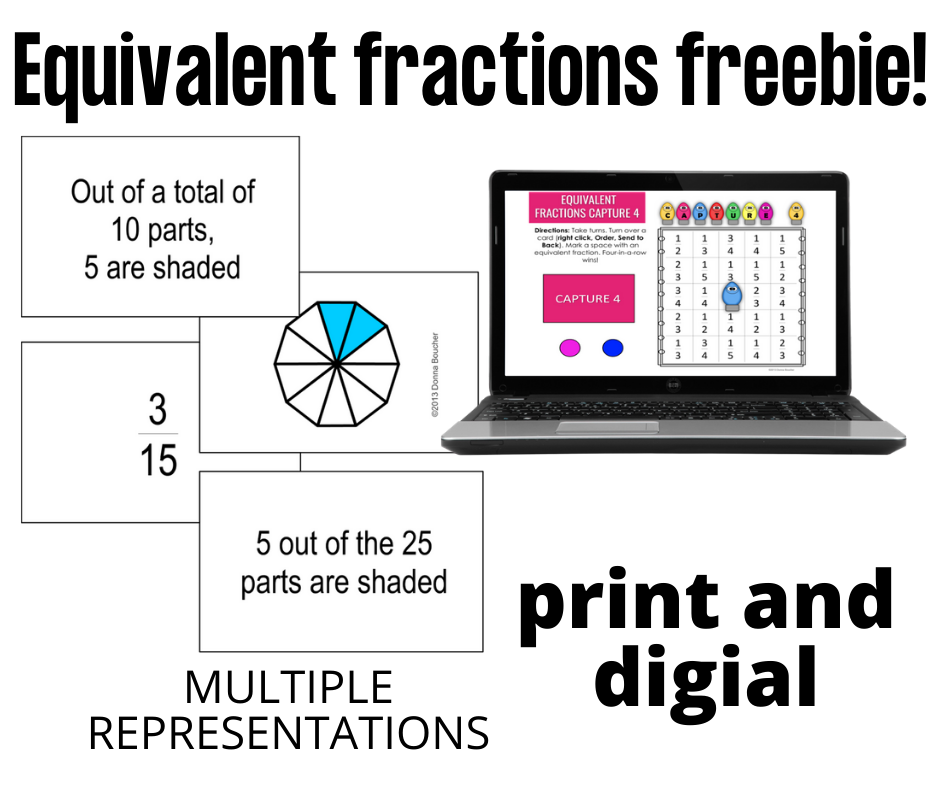 Equivalent Fractions Freebie!