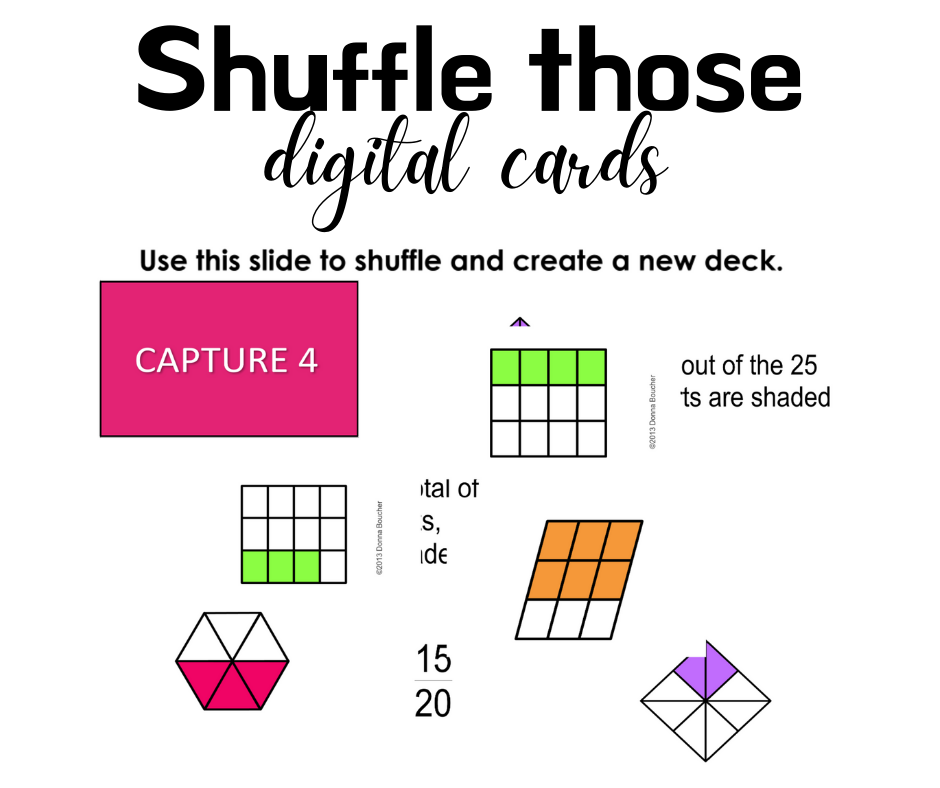 Shuffle those digital cards!