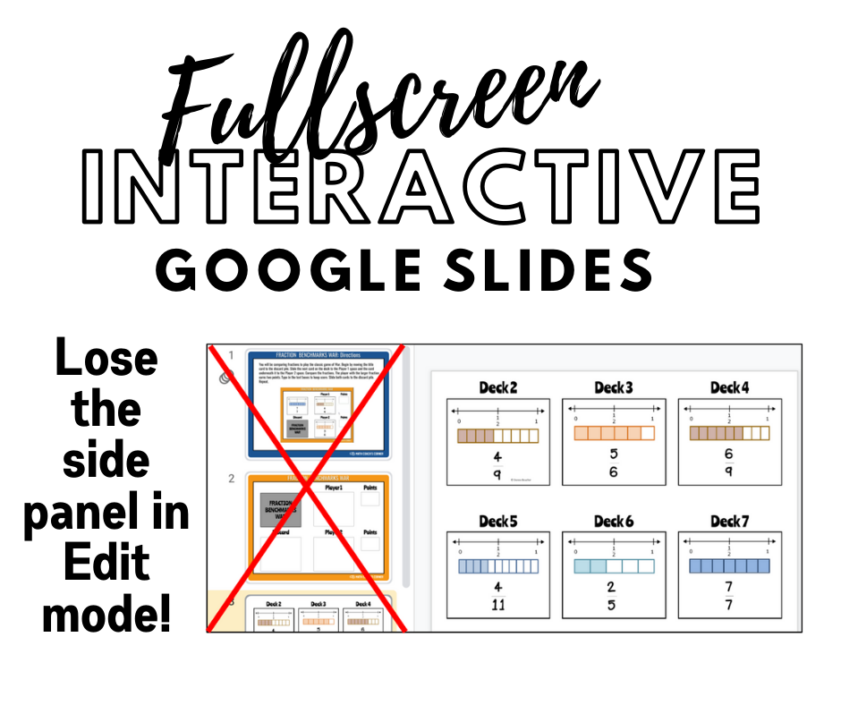 Fullscreen Edit Mode for Google Slides