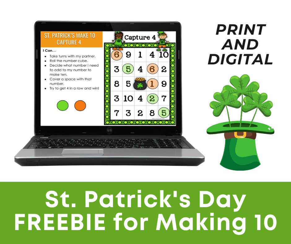 St. Patrick's Day FREEBIE for Making 10
