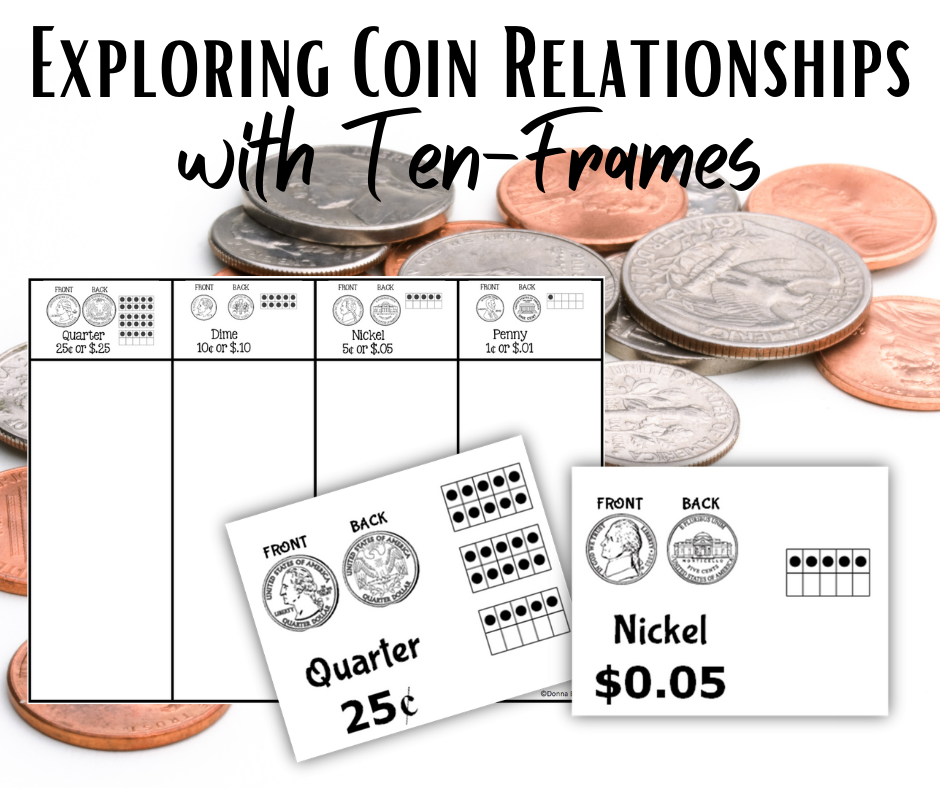 Exploring Coin Relationships with Ten-Frames